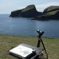fair isle, painting seabirds with bruce pearson